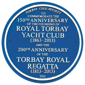 RTYC Blue Plaque